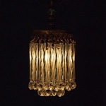 Ceiling Lamp Crystal Round